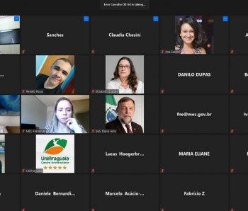 3ª Reunião Extraordinária do Fórum Nacional de Educação - 30/09/2020 - Realizada remotamente